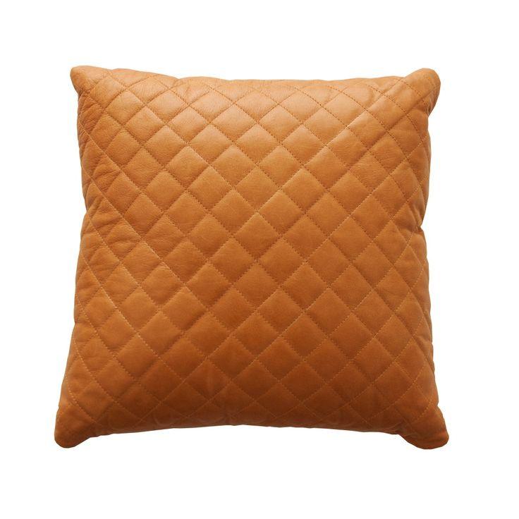 Image of moonshine leather cushion