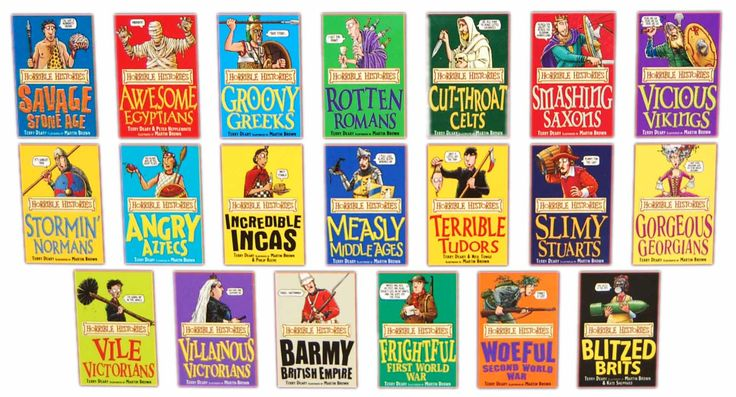 Horrible Histories. Got me into history as a kid and still a good read as an adult. (The CBBC show is also amazing).