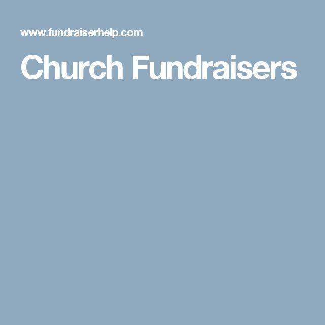 Church Fundraisers