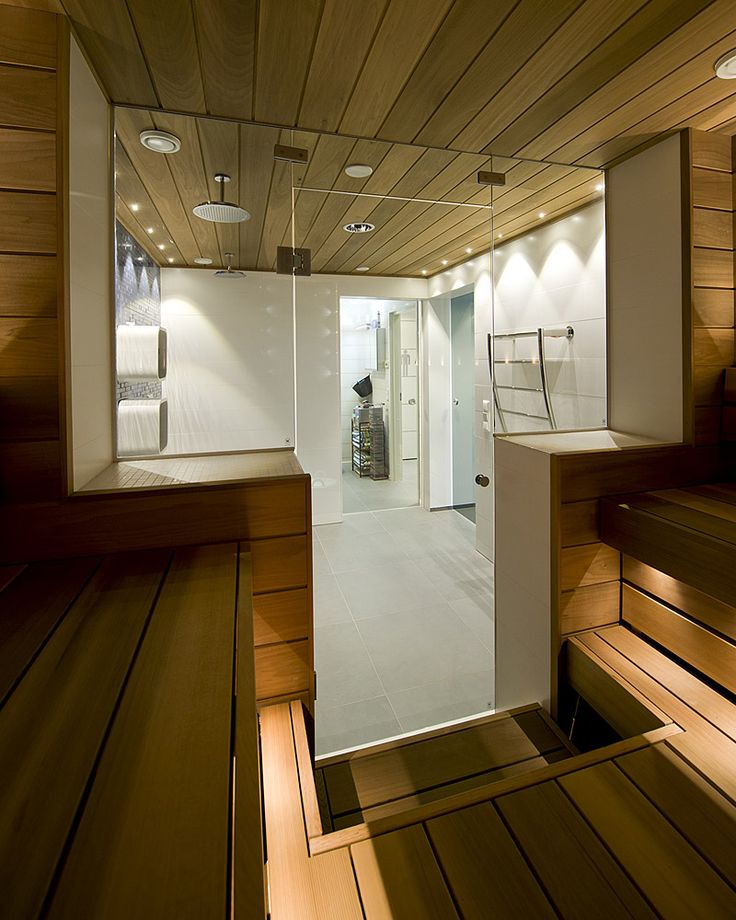 Sauna - design by decom
