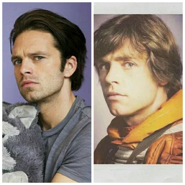 I am supportive of the belief that Sebastian Stan is Mark Hamill's doppelganger. Must be true...
