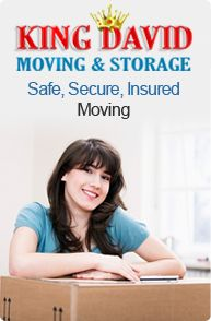 King David Moving and Storage, Professional and Affordable Movers that can offer great moving services, Guaranteed!