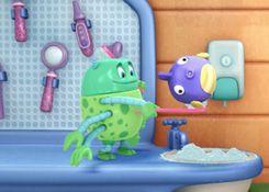 DoctoraJuguetesJuegos.com - Juego: Rompecabezas Cepillando a Chillón - Juegos de Puzzles de Doctora Juguetes Disney Jugar Gratis Online
