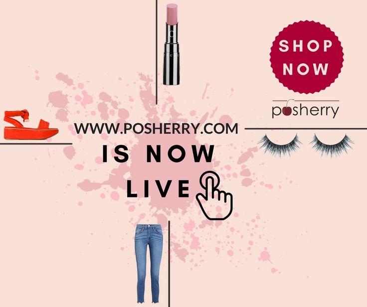 WE ARE LIVE!! - www.posherry.com