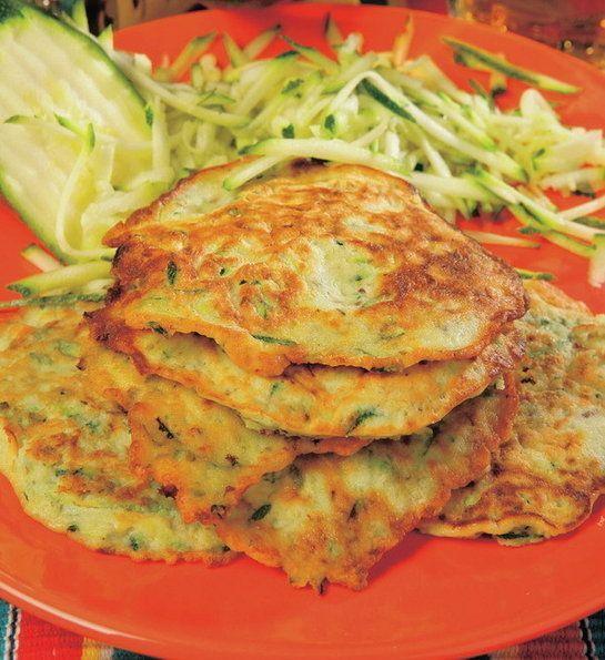 Cuketové placky - Recept pre každého kuchára, množstvo receptov pre pečenie a varenie. Recepty pre chutný život. Slovenské jedlá a medzinárodná kuchyňa