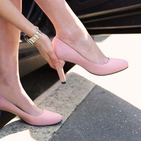 Enfin des chaussures qui s'adaptent ! il fallait y penser  trop cool!!!!!!