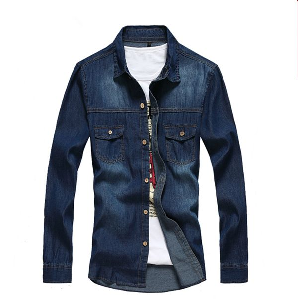 2016 latest shirt designs for men casual men's jeans shirt man shirt#latest shirt designs for men#shirt