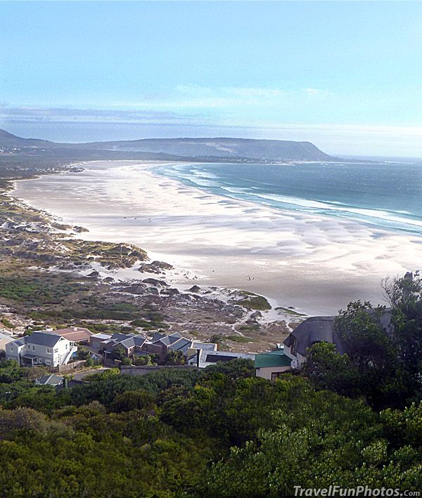 Long Beach, Noordhoek, near Cape of Good Hope in Cape Town, South Africa