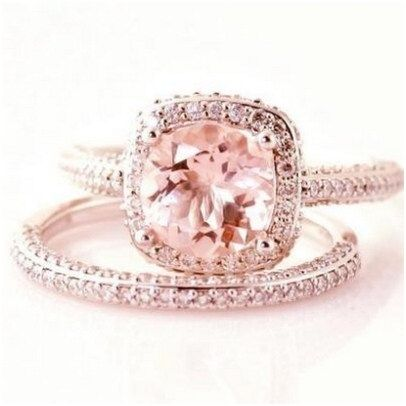 Luxury rose gold engagement ring vintage for your perfect wedding (92)