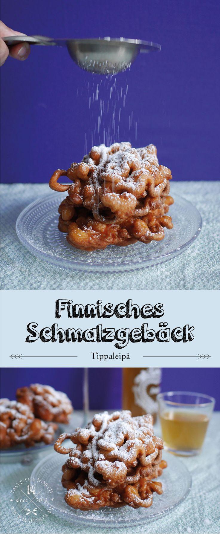 Finnische Küche: Tippaleipä I frittiertes Schmalzgebäck Hauskaa vappua!