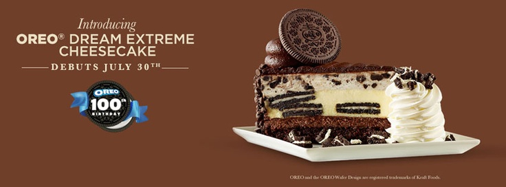 Cheesecake Factory: 1/2 Price Cheesecake coming up on Monday, July 30th!