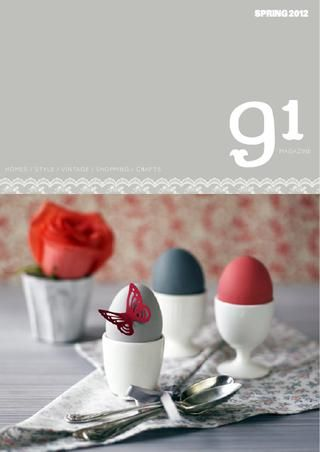 .: Diy Crafts, Design Interiors, 91 Magazines, Magazines Crafts, Http 91Magazin Co Uk, Easter Eggs, Online Magazines, Easter Mornings, Vintage Style