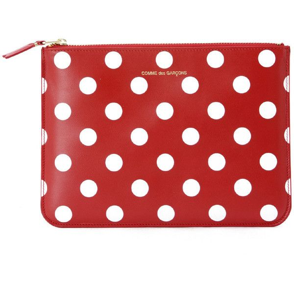 Comme des Garçons Wallets Wallets ($120) ❤ liked on Polyvore featuring bags, wallets, rosso, comme des garcons bag, red wallet, comme des garcons wallet, comme des garçons and red bag