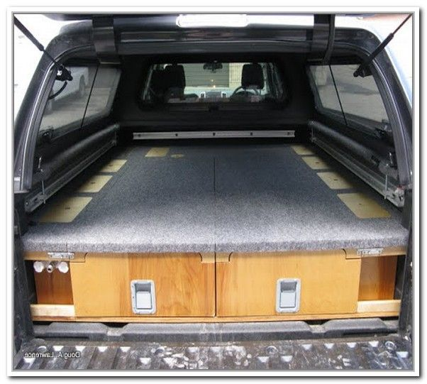 1000 ideas about truck bed storage on pinterest truck bed slide truck bed storage box and - Diy truck bed storage ...