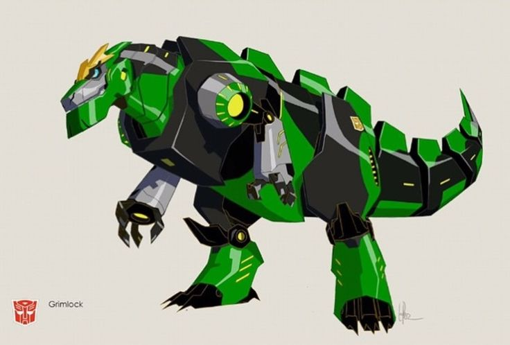 Transformers Robots in Disgiuse - Grimlock (My favorite dinobot in any of the series).
