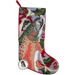 17 best images about merry fishmas on pinterest for Fish christmas stocking