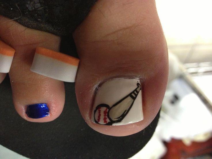 Best 25+ Baseball nail designs ideas on Pinterest ...