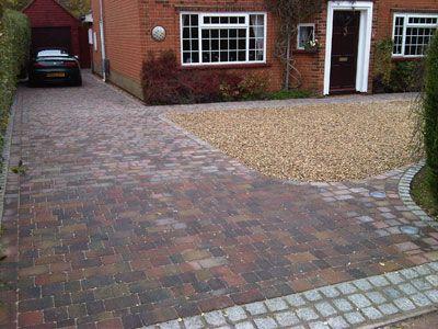 block paving driveway london