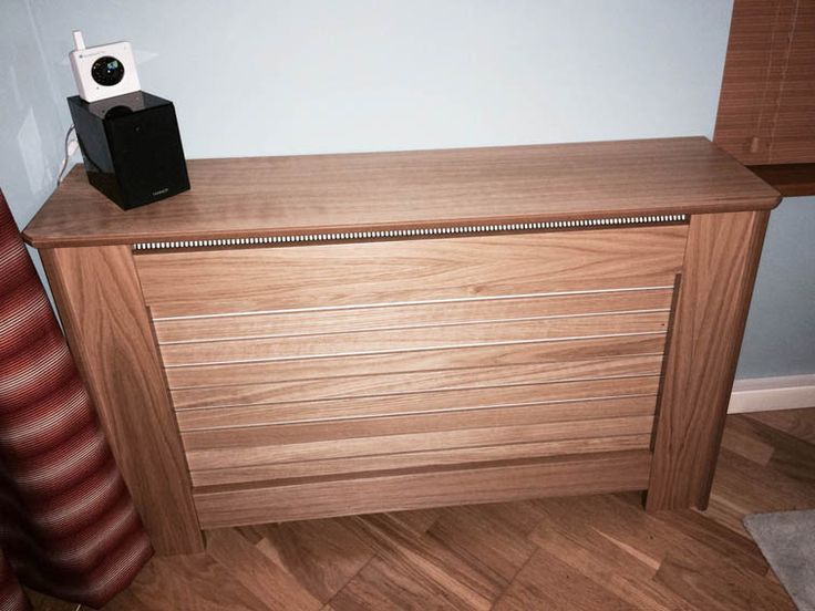 storage heater oak cover