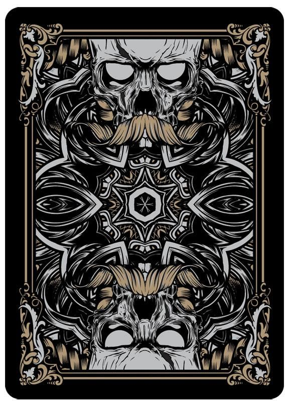 43 Best Playing Card Back Designs Images On Pinterest