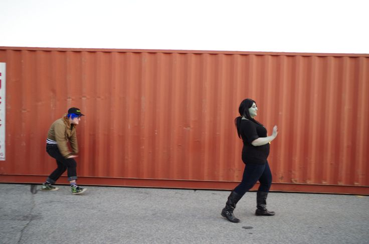 https://flic.kr/p/pj542H | Gorillaz walking