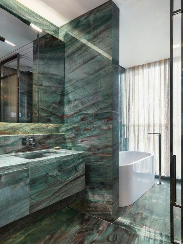 Wandgestaltung Ideen für individuelle und gehobene Badgestaltung More