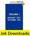 Reagan Diaries Volume 2 November 1985-January 1989 eBook Douglas Brinkley, Ronald Reagan ,   ,  , ASIN: B003LL2Z1C , tutorials , pdf , ebook , torrent , downloads , rapidshare , filesonic , hotfile , megaupload , fileserve