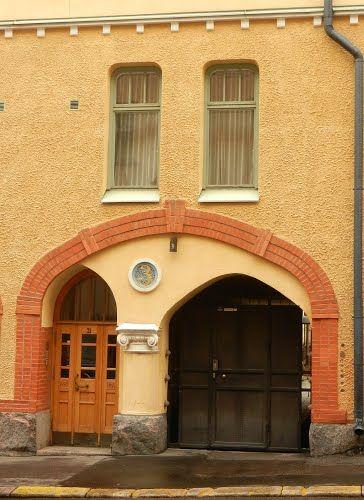 Art Nouveau /Jugend house in Helsinki, Finland