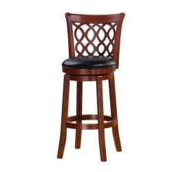 Allison Cherry Finish 30-inch Swivel Bar Stool - Overstock™ Shopping - Great Deals  sc 1 st  Pinterest : 30 inch wood bar stools - islam-shia.org