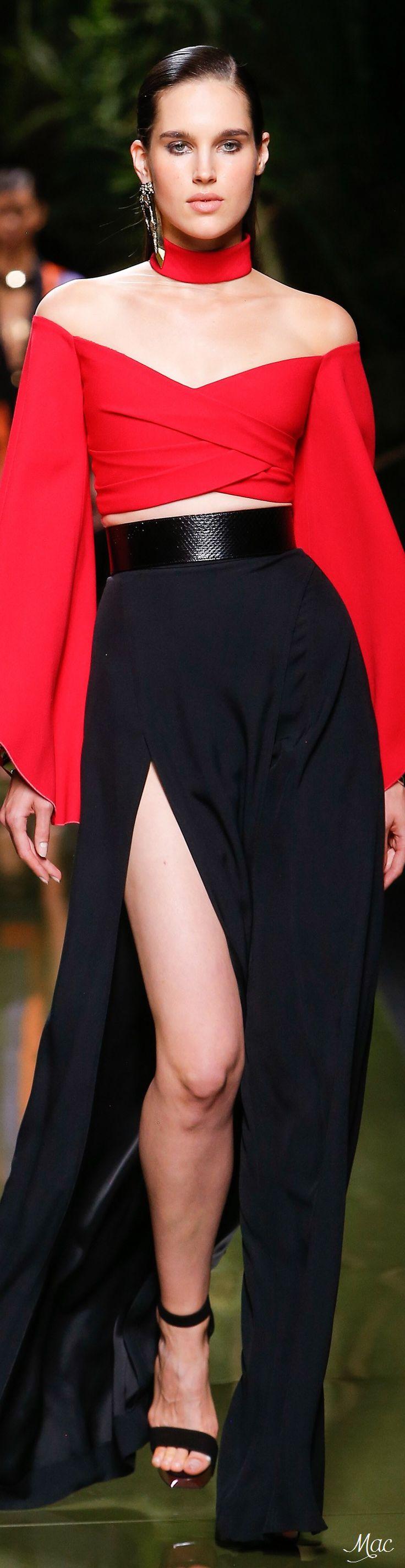 Spring 2017 Ready-to-Wear Balmain