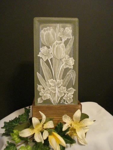283 Best Crafts Glass Blocks Images On Pinterest Glass