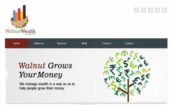 Website Design for Walnut Wealth