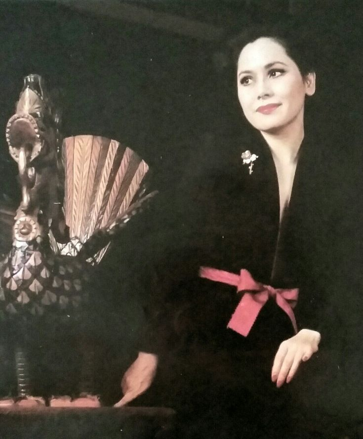 Ratna Sari Dewi in various styles. From Femina.