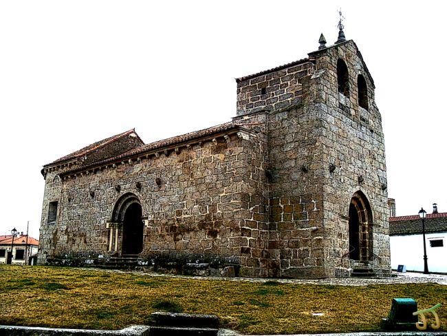 Iglesia de Santa Elena. Ledesma. Salamanca.