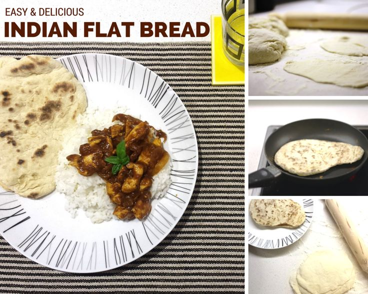 Easy Indian Flat Bread_with the Tefal Cuisine companion