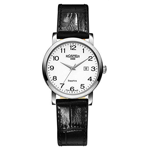 Roamer Damen-Armbanduhr Classic Line Analog Quarz Leder 709844 SL2 - http://on-line-kaufen.de/roamer-4/roamer-damen-armbanduhr-classic-line-analog-sl2