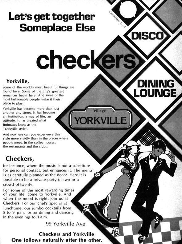 Revisiting the Toronto bar scene, circa 1979