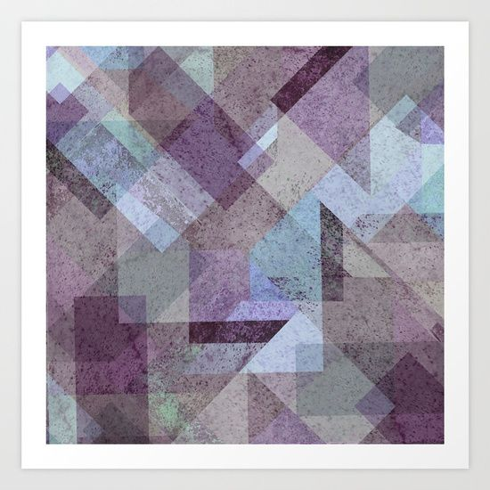 Collect your choice of gallery quality Giclée, or fine art prints custom trimmed by hand in a variety of sizes with a white border for framing. PLUM, PURPLE, CYAN, TURQUOISE, BLUE, RASPBERRY, GEOMETRY, GEOMETRIC, SQUARE, TRIANGLES, MINT, GRAY, STRIPES, MINIMALIST, SCANDINAVIAN, DESIGN, POP, TAPESTRIES, HOME DECOR, SOCIETY6, XIARI
