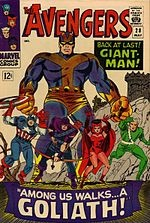 Hank Pym as Goliath. Best line-up ever. Now THAT's a movie!