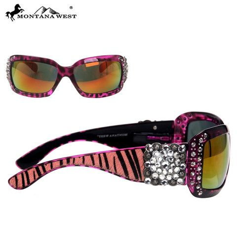 SUNGLASS - BK/CL (FMSGS-2505CL)  See more at http://www.montanawest.ca/collections/sunglasses