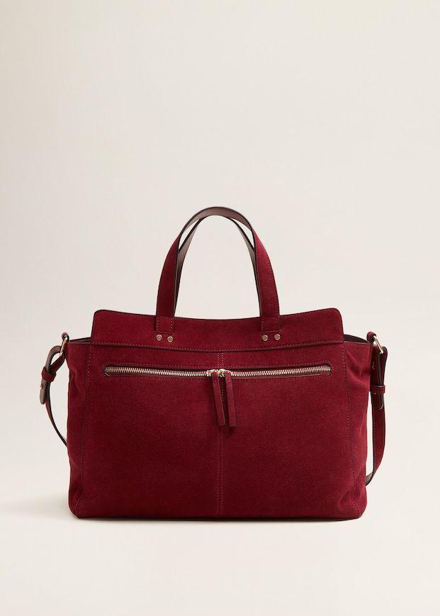 Kožená kabelka shopper - Žena  3c6da9a0212