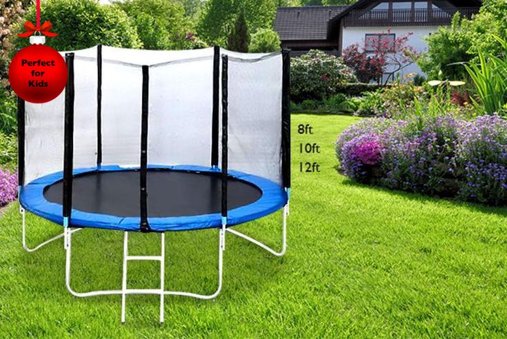 25 Best Ideas About 12ft Trampoline With Enclosure On