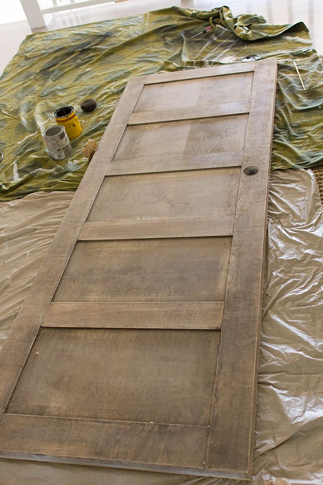 Awesome idea turn a flat hollow core door into a vintage look door turn a flat hollow core door into a vintage look door with flat wood trim jenna sue foyer update diy salvaged door home decor pinterest planetlyrics Image collections