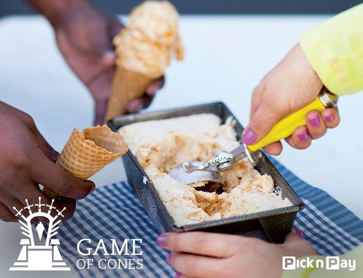 It's a melktert. It's an ice cream. It's the best dessert you'll eat all summer! #DailyDish ☀☀