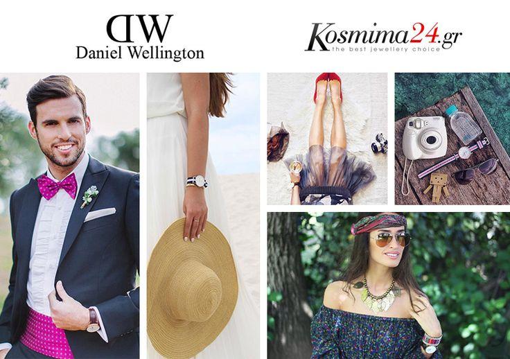 Μπείτε στο Kosmima24.gr και δείτε τη νέα μας συλλογή σε ρολόγια από τον οίκο Daniel Wellington!!    http://goo.gl/7QhbJt