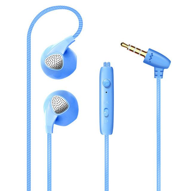 Mobile Stereo Headset Earbuds with Microphone