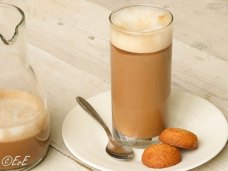 IJskoude cappuccino (ijskoffie)