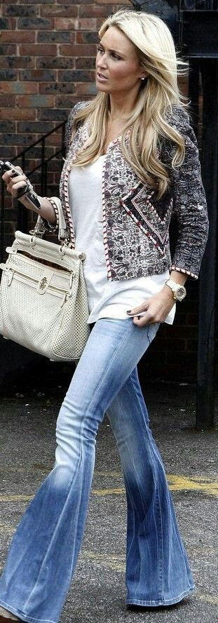 I like the fit of the t-shirt and how it is layered with the jacket.