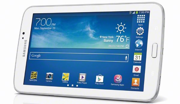 Galaxy Tab 3 7.0 LTE variant arrives in Sprint on 11 Oct