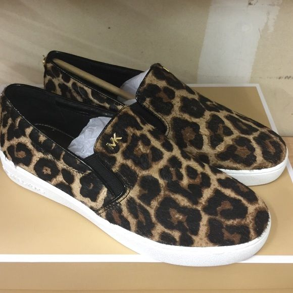 $75 ONE DAY SALEMichael Kors Shoes Today only $75. Brand New with box. Size 6. Real fur dyed cow hair calf. Michael Kors Shoes Sneakers